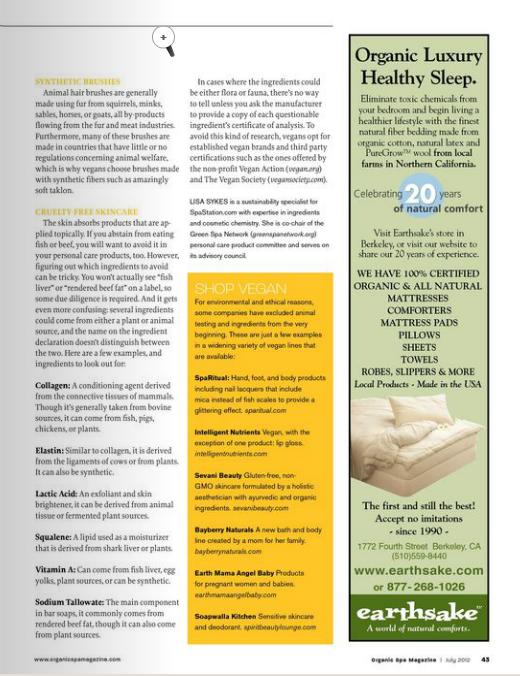 Organic Spa Mag